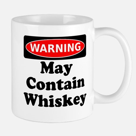 Warning May Contain Vodka Mug